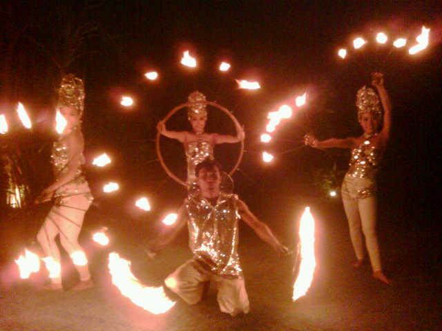 Fire Dance di Bali
